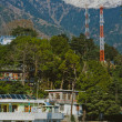 Dharamsala city view — Stock Photo