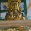 Stock Photo: Statue of Guru Padmasambhava