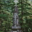 Ancient Catholic cemetery in Dharamsala — Stock Photo