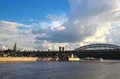 Bridge across the Moscow River — Stock fotografie