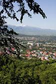 City with a bird's eye view — Stockfoto