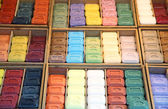 Colorful pieces of soap — Stock Photo