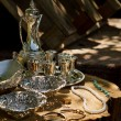 Antique silver plate for sale — Stock Photo #35906437