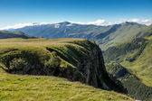 Green mountainside — Stock Photo