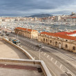 Stock Photo: View of the old port of Marseille