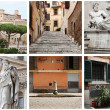 Collage on the theme of Rome — Stock Photo
