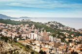 View of Marseille, the city, the sky and  the sea — Stock Photo