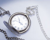 Antique pocket watches, picture in retro style — Stock Photo