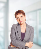 Attractive woman 50 years old — Stock Photo