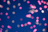 Defocused image of fireworks — Stock Photo