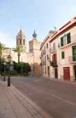 Ancient fortress in Sitges — Stock Photo