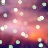 Festive Christmas background of defocused decorated xmas  — Photo