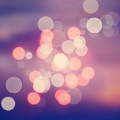 Festive Christmas background of defocused decorated xmas — Stock Photo