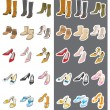 Fashion / Shoes - Stock Vector