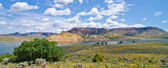 Blue Mesa Reservoir in the Curecanti National Recreation Area in Southern Colorado — Stock Photo