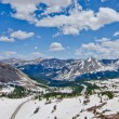 View of the Rocky Mountains from the top of Cottonwood Pass, Colorado — Stock Photo