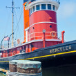 Stock Photo: Steamboat docked at Fisherman's Wharf in SFrancisco