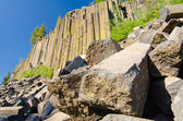 Basalt formations at Devil's Postpile National Monument near Mam — Stock Photo