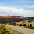 Stock Photo: Roadside scenery in Utah.