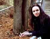 Retrato de uma jovem mulher — Foto Stock