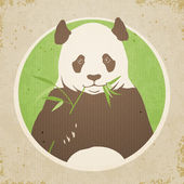 Panda Bear — Stock Vector