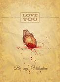 """""""Be My Valentine"""" — Stock Vector"""