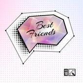 """Best Friends"" Glamour Speech Bubble. — Stock Vector"