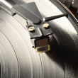 Tonearm on vinyl record — Stock Photo #33655811