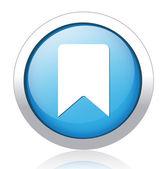 Book mark icon — Stock Vector