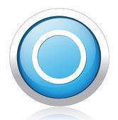 Tasto cerchio — Vettoriale Stock