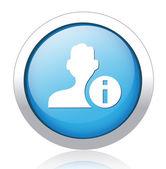 User button — Stock Vector