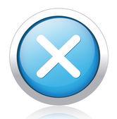 Remove button — Stock Vector