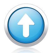Arrow Button — Stock Vector