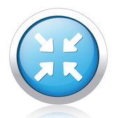 Arrows Button — Stock Vector