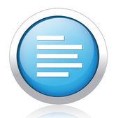 Text Button — Stock Vector