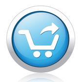 Alışveriş düğmesi — Stok Vektör