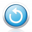 Icon of reload button — Wektor stockowy  #41583183