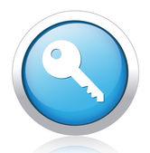 Icono clave — Vector de stock