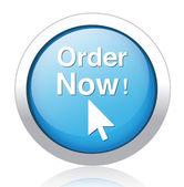 Order now button — Stock Vector