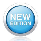 New Edition button — 图库矢量图片