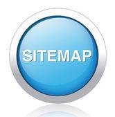 Sitemap button — Stock Vector
