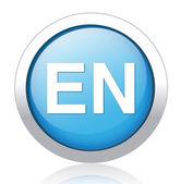 English language sign icon. — Vettoriale Stock