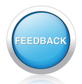 Feedback button — Stock Vector