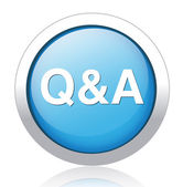 Question answer icon — Stock Vector