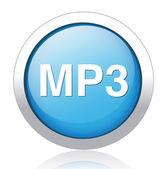 Mp3 download vector symbol — Stock Vector