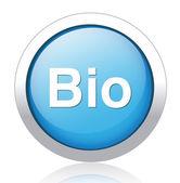 Bio icon — Stock Vector