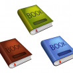 Three books — Stock Vector #41724237