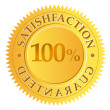 Satisfaction guaranteed — Vector de stock #41724889