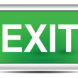 Exit sign — Stock Vector #41724891