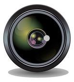 Camera lens vector — Stock Vector